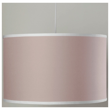 Oilo Solid Large Cylinder Light in Blush