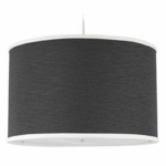 Oilo Solid Large Cylinder Light in Pewter