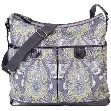 OiOi Baroque Paisley Hobo Diaper Bag