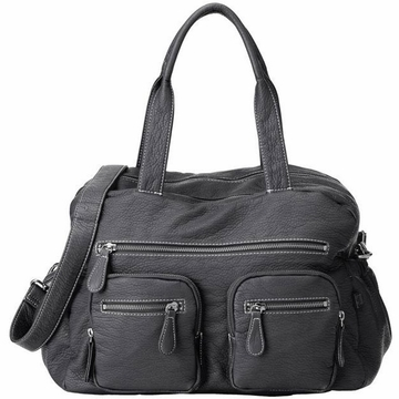 OiOi Black Buffalo Carry All Diaper Bag