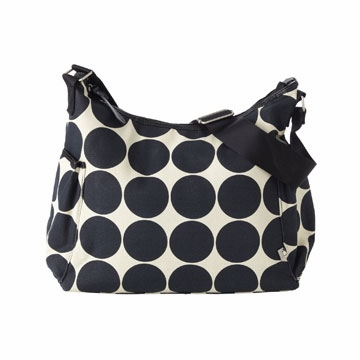 OiOi Ebony Desert Hobo Diaper Bag