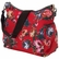 OiOi English Rose Red Hobo Diaper Bag