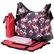 OiOi Rose Chevron Hobo Diaper Bag