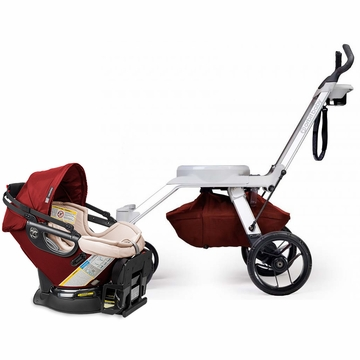 Orbit Baby G2 Frame + G3 Infant Car Seat - Mocha/Ruby