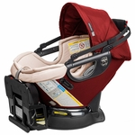 Orbit Baby G3 Infant Car Seat & Base - Ruby / Khaki