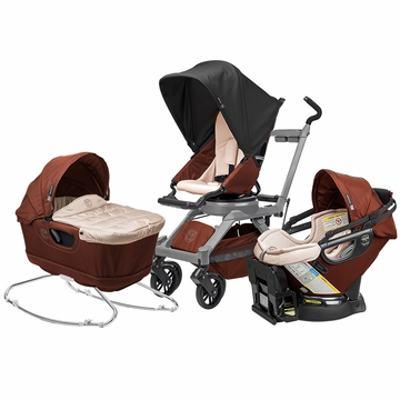 Orbit Baby G3 Newborn Package - Mocha/Grey