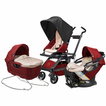 Orbit Baby G3 Newborn Package - Ruby/Black