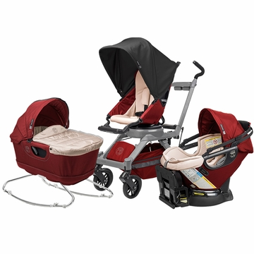 Orbit Baby G3 Newborn Package - Ruby/Grey