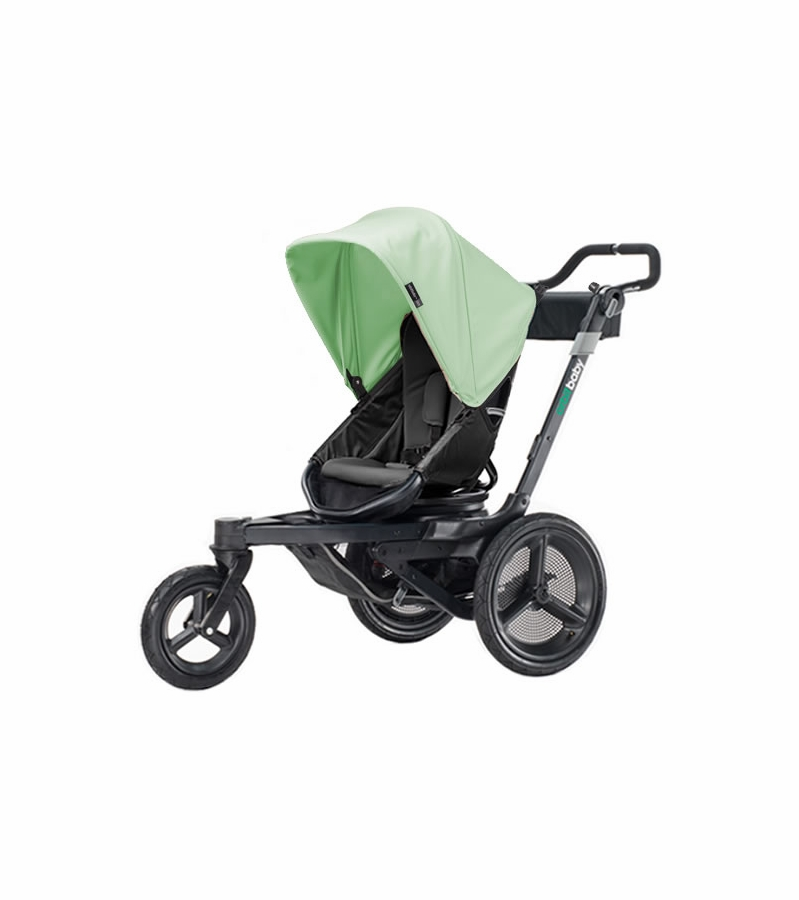 Orbit Baby O2 Stroller - Black / Mint