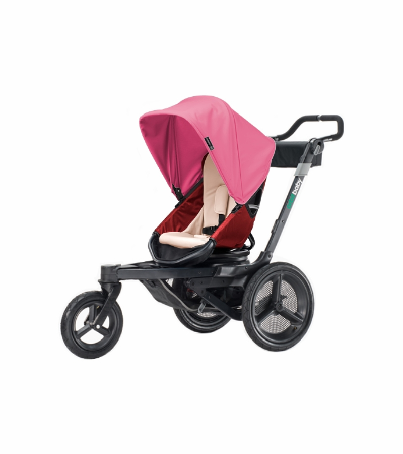 Orbit Baby O2 Stroller - Ruby / Raspberry