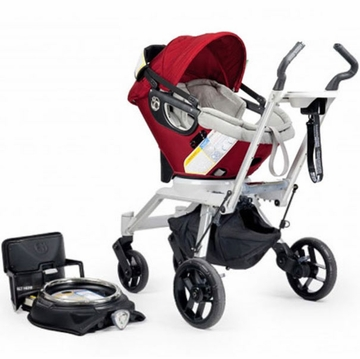 Orbit Baby Stroller Travel System G2 - Black / Red