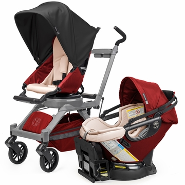 Orbit Baby G3 Travel System - Ruby / Grey