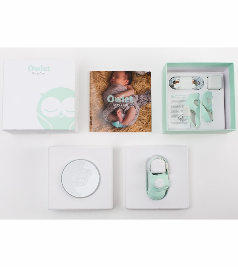 Owlet Baby Monitor Infant Heart Rate And Oxygen Monitor