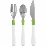 OXO Tot Big Kid Cutlery Set - Green