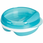 OXO Tot Divided Feeding Dish in Aqua