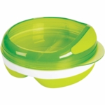OXO Tot Divided Feeding Dish in Green