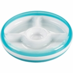 OXO Tot Divided Plate in Aqua