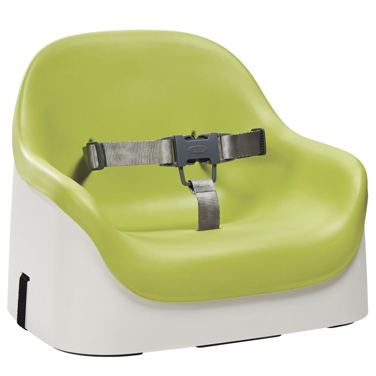 Oxo Tot Nest Booster Seat Green on table booster seats for toddlers