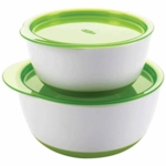 OXO Tot Small & Large Bowl Set in Green