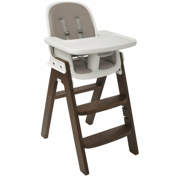 OXO Tot Sprout Chair in Taupe/Walnut