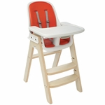 OXO Tot Sprout High Chair - Orange/Birch