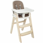OXO Tot Sprout Chair - Taupe/Birch