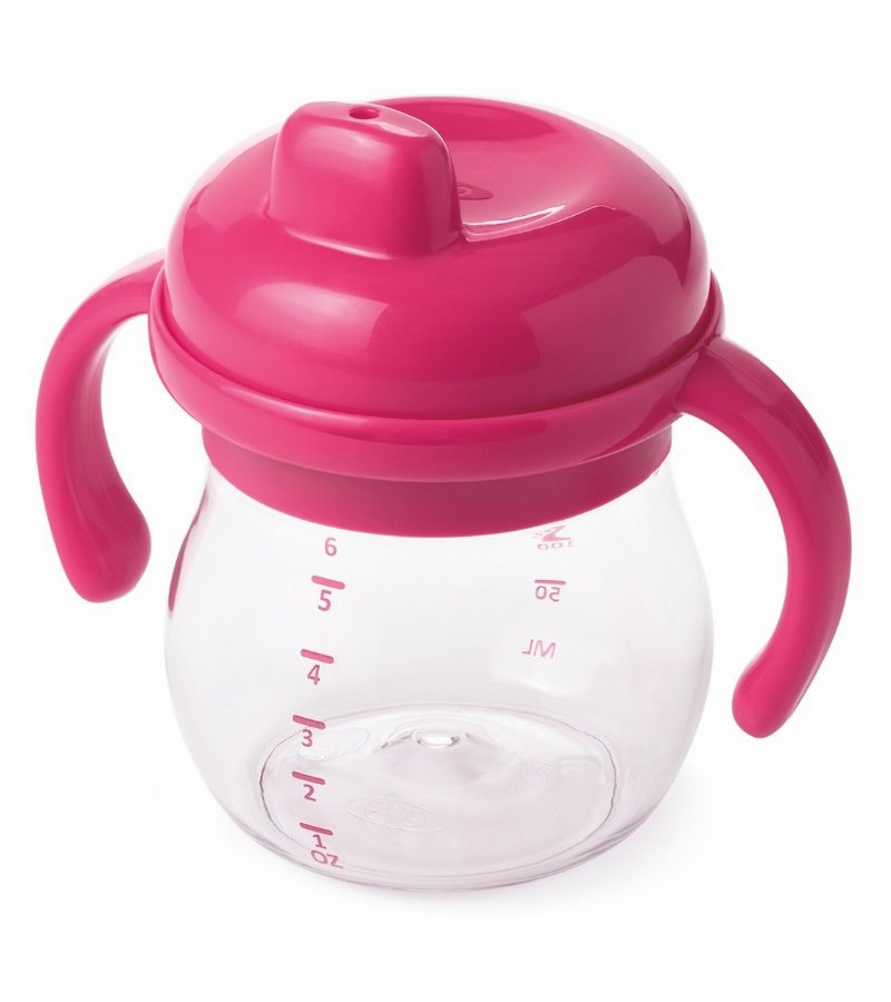 Oxo Tot Transitions Sippy Cup With Removable Handles 6 Oz