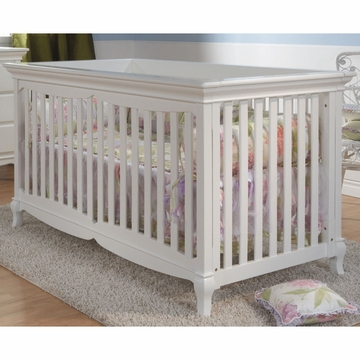 Pali Ancona Forever Crib in White