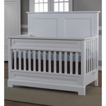 Pali Aria Forever Crib in White