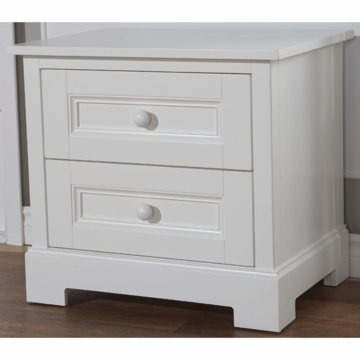 Pali Aria Nightstand in White