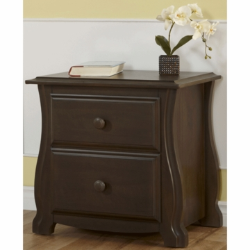 Pali Bergamo Nightstand in Earth