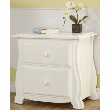 Pali Bergamo Nightstand in White
