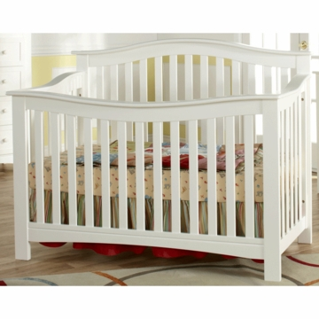 Pali Bolzano Crib in White