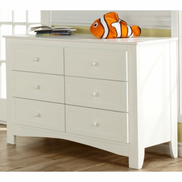 Pali Bolzano Double Dresser in White