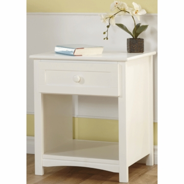 Pali Bolzano Nightstand in White