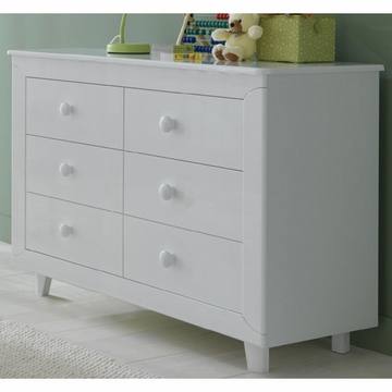 Pali Gala Double Dresser in White