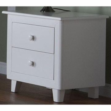 Pali Gala Nightstand in White