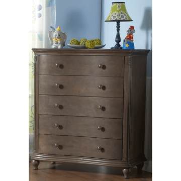 Pali Gardena 5 Drawer Dresser in Slate