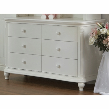 Pali Gardena Double Dresser in White