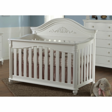 Pali Gardena Forever Crib in White