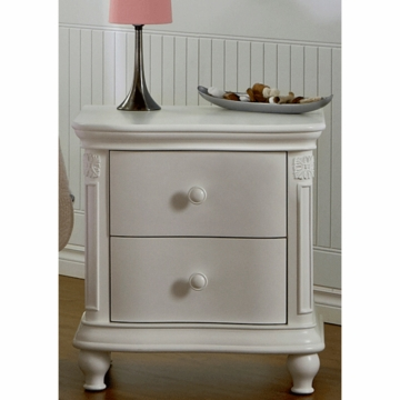Pali Gardena Nightstand in White