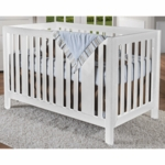 Pali Imperia Forever Crib in White