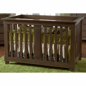 Pali Lucca Forever Crib in Slate
