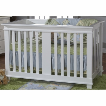 Pali Lucca Forever Crib in White