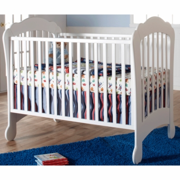 Pali Manon Crib in White