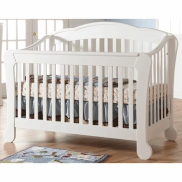 Pali Manon Forever Crib in White