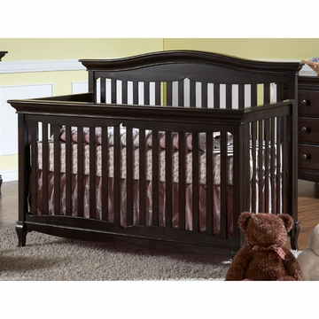 Pali Mantova Forever Crib in Onyx