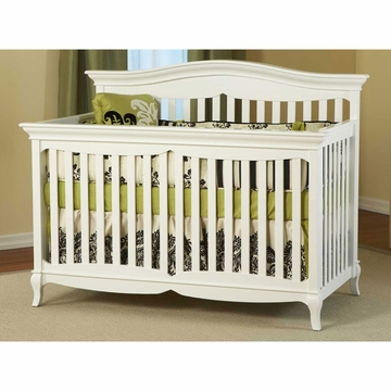 Pali Mantova Forever Crib in White