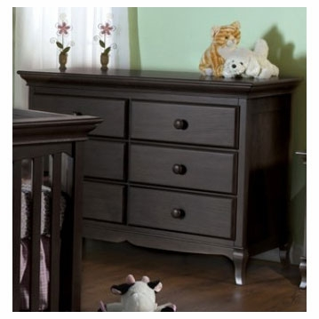 Pali Mantova Series Double Dresser in Onyx