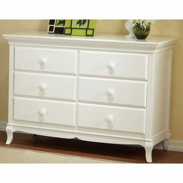 Pali Mantova Series Double Dresser in White